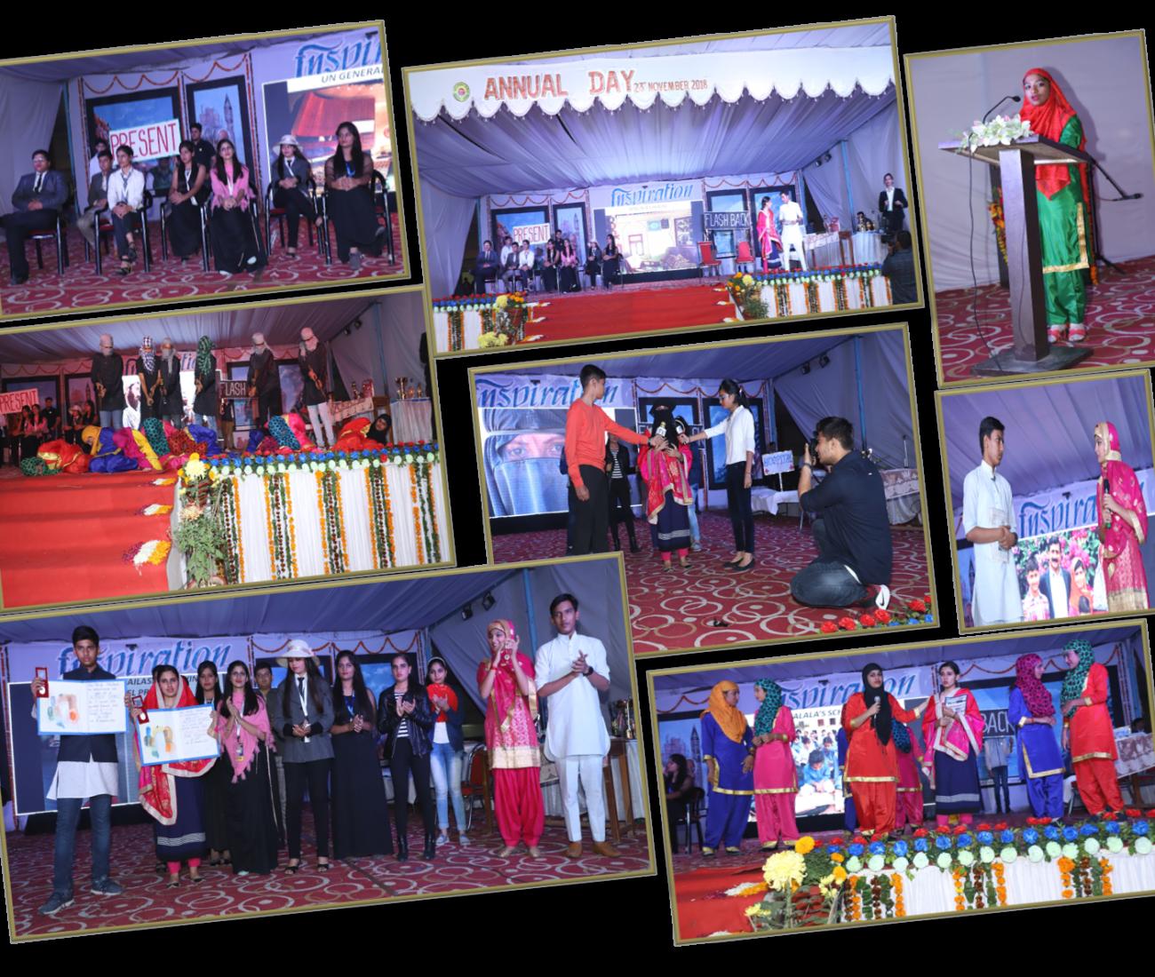 GLIMPSES OF ANNUAL FUNCTION 2018 | Hindu VidyaPeeth Sonepat